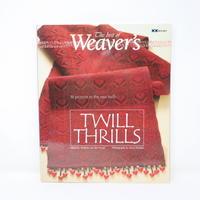 【古本】B2_93 The best of Weaver's TWILL THRILLS /Madelyn van der Hoogt
