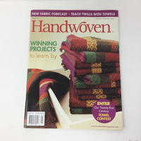 【古本】B268      HANDWOVEN January / february 2006