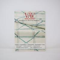【古本】B2_122 Vav Magasinet VÄVMAGASINET NR3 2006 日本語訳小冊子付