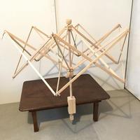 K008【USED】木製かせくり メーカー不明