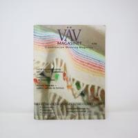 【古本】B2_123 Vav Magasinet VÄVMAGASINET NR4 2006  日本語訳小冊子付