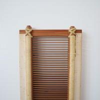R074【USED】<東京手織>竹筬 30羽 /10㎝ 内寸85㎝