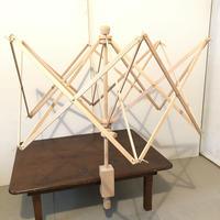 K009【USED】木製かせくり メーカー不明