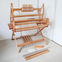 P042【USED】<ASHFORD> テーブルルーム  table loom スタンド付き 80cm 4枚綜絖 踏板4本