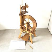 H070【USED】<おびひろニット> 糸車 糸紡ぎ