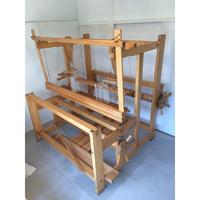 G005【USED】<ベリオサボニア>北欧 スウェーデン製 機織 織機 140㎝巾 説明書付き10枚綜絖 10枚綜絖