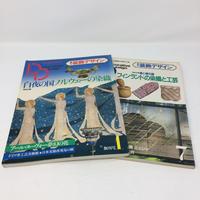 【古本】B073  季刊 装飾デザイン Decorative Design No.1.No.7 2冊セット