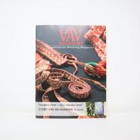 【古本】B2_133 Vav Magasinet VÄVMAGASINET NR3 2008 日本語訳冊子付