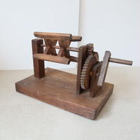 P094【USED】木製座繰機 糸巻き 木枠