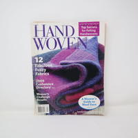 【古本】B2_229 HANDWOVEN January / February 2009
