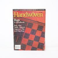 【古本】B2_199 HANDWOVEN November / December  2001