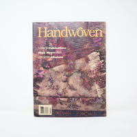 【古本】B2_171 HANDWOVEN March / April 1996