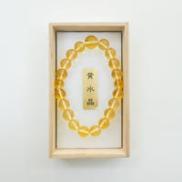 黄水晶腕輪念珠