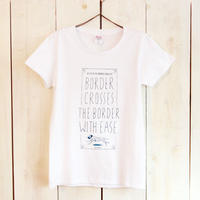 CROSS THE BORDER Tシャツ