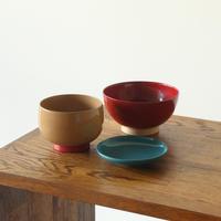 「aisomo cosomo」飯椀と小鉢とまめ皿の3点セット