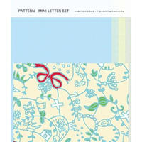 POL064  PATTERN MINI LETTER SET 幸せをつなぐ