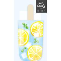 LT410アイスキャンディーミニレターセット レモン