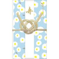 VK141 暮らしを彩る祝儀袋 フラワー/ホワイト