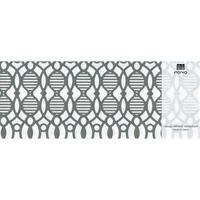 MINOK66 Printed envelope M Light Grey