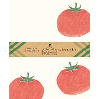 LT374紙マルシェ マルシェ便り トマト