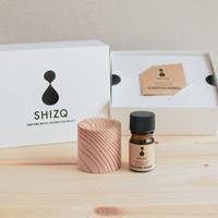 【今ならプレゼントつき!】SHIZQ SLEEPING FOREST エッセンシャルオイル&ディフューザーGIFT BOX