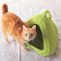 印刷版レシピ「テトラ型のキャットハウス -Tetra cat house- 」
