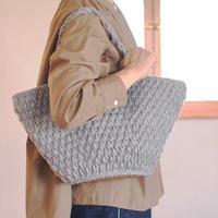 【終了】ワークショップ@東京fukuya(7/21-22)「引き上げ編みのマルシェバッグ」お申し込み