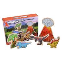 ダイナソー 木製フィギュア ウッドキンズ   25632