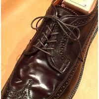 オールデン 靴紐 5穴用におすすめです  丸紐