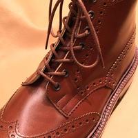 トリッカーズのカントリー用/茶 靴ひも 70cm 110cm 120cm/バートン、モールトンに