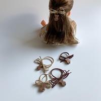 Doll hair tie set
