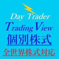 ☆Day Trader TradingView☆(全世界個別株式トレード対応)新発売!特別限定価格!