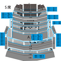 フェスティバルホール座席図(※販売用ではありません)