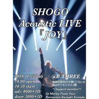SHOGO Acoustic LIVE 『JOY』@福岡