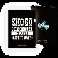 SHOGOソロコンサート2017 A4クリアファイル