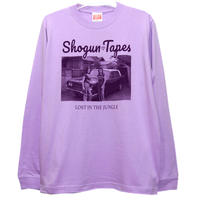 LOST IN THE JUNGLE  LONG TEE リブ [LIGHT PURPLE]