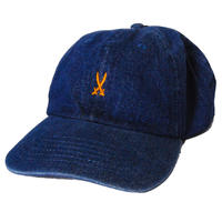 [DB] SHOGUN Cross Sword 6panel denim CAP