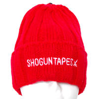 SHOGUN KNIT CAP RED