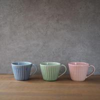 しのぎマグカップ 全3色