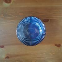 7寸輪花鉢【青萩釉】