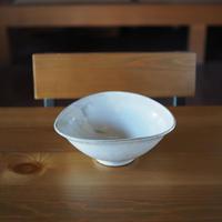 楕円鉢・小【粉引】