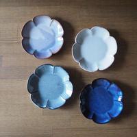 花形4寸皿 全4色