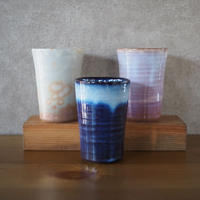 フリーカップ【青萩釉、粉引紫、御本手】
