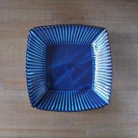 輪花8寸角鉢【青萩釉】