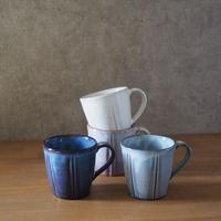 しのぎマグカップ 全4色