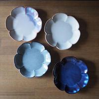 花形5寸皿 全4色