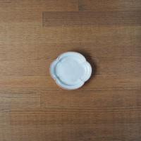 木瓜3寸皿【白萩釉】