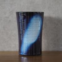 吹付フリーカップ【青萩釉】