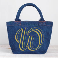 Organic Denim Tote W / Ginger Beach Inn Original