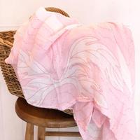 Coco Moon Bamboo Swaddle /  Ulu Nani pink
